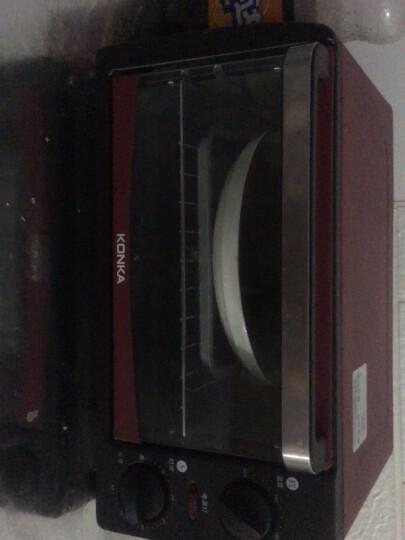 康佳(KONKA)电烤箱家用一机多能迷你小烤箱 12L容量小巧不占地 KAO-1208(D) 晒单图