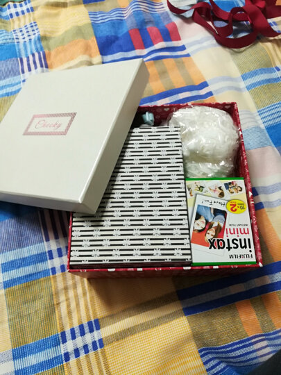 富士instax一次成像拍立得相机mini25相机多色可选套餐含拍立得相纸生日礼物旅游美颜 mini25红 官配 晒单图