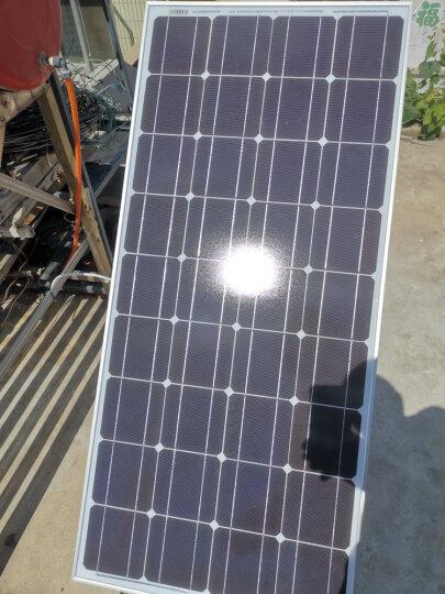 星火 单晶100w太阳能电池板18V家用光伏板充12V蓄电池户外太阳能板 晒单图