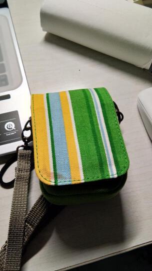 马田(MATIN) 韩国品牌数码相机包卡片机包佳能ixus便携包索尼黑卡RX尼康富士三星收纳包拉腰包 绿色 晒单图
