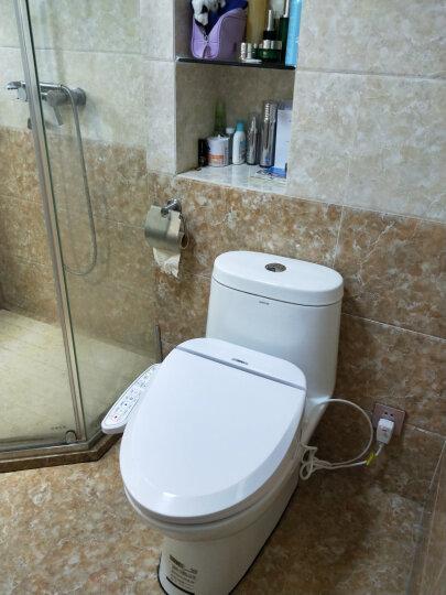 智美佳华(ZMJH)  智能马桶盖即热式洁身器坐便盖板小短款家用全自动冲洗烘干加热通用多功能 ZMA102 长款(长51cm)【基础款】 晒单图