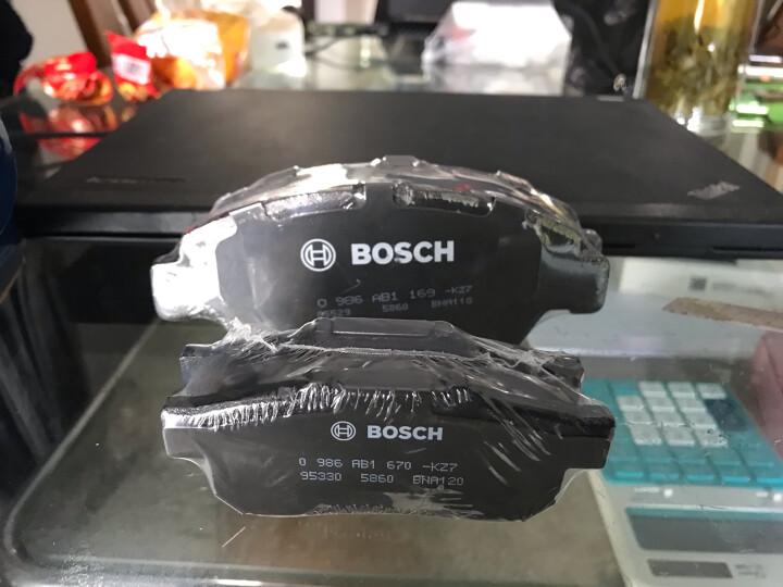 博世(BOSCH)刹车片后片 本田飞度1.3/1.5/锋范1.8i/思迪FF1.5i 0986AB1670 晒单图