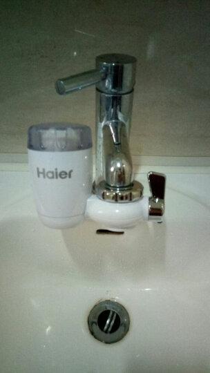 【正常发货 抢1机6芯】海尔HT101-1水龙头净水器台式净水机家用厨房过滤器自来水 晒单图
