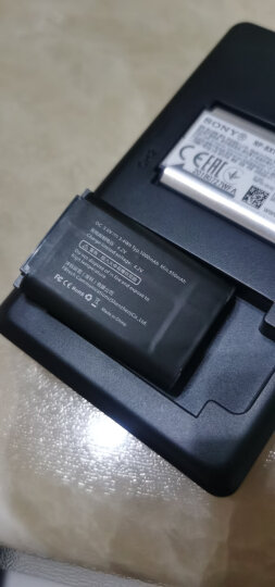 沣标(FB)NP-BX1 充电器For索尼黑卡DSC-RX100 II M3 M4 RX1 HX300 HDR-CX240E AS15相机 晒单图