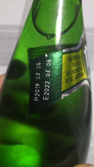 法国进口 巴黎水(Perrier)含气天然矿泉水 原味气泡水330ml*24瓶 (玻璃瓶)整箱 晒单图