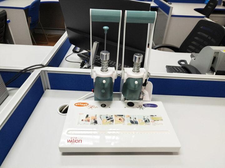 惠朗(huilang)HL-3000财务凭证装订机30mm 省力型 晒单图