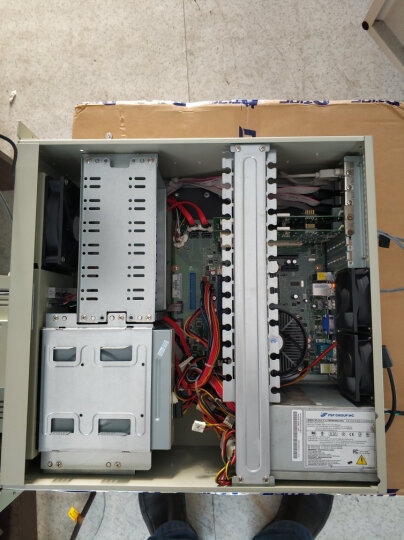 东田【酷睿双核四核】工控主机IPC-510M研华G41主板 支持XP 2个pci槽单网6串口工业电脑 白G41/单网 Q9300/8G/2T/DVD/300W/WIN7 晒单图