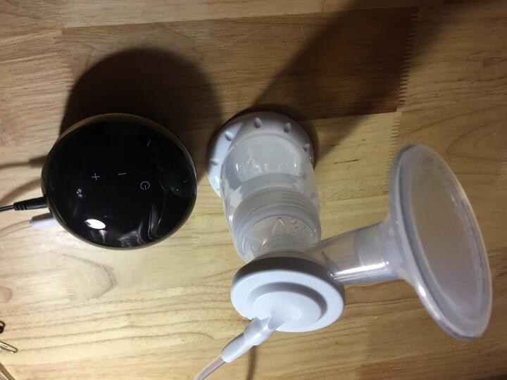 小白熊 电动吸奶器 插电式9档调节按摩吸乳器 黑金 晒单图
