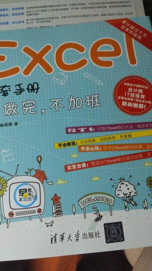 Excel效率手册 早做完,不加班(升级版)(套装共4册) 晒单图
