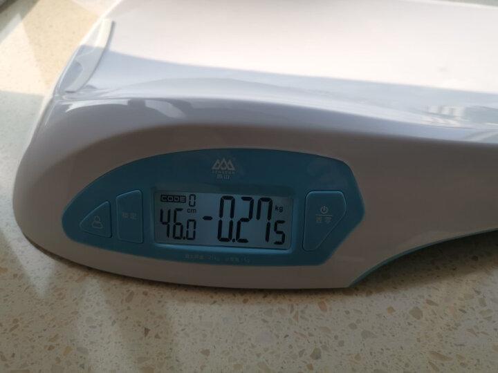 香山 iR-Baby婴儿秤电子秤体重秤 智能婴幼儿秤可测身高 精准 宝宝成长秤 蓝牙传输 经典款ER7210 晒单图