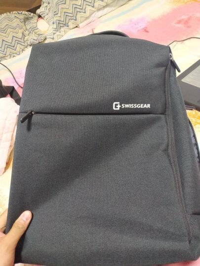 SWISSGEAR双肩包书包 防泼水面料商务休闲双肩背包笔记本电脑包15.6英寸 SA-9360III黑色 晒单图