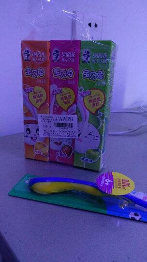 黑人(DARLIE)宝贝兔儿童牙膏(草莓味)40g*1+ 儿童牙刷*1 便携套装 含氟含钙 软毛牙刷 晒单图