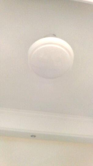 雷士照明 LED客厅灯 卧室风扇灯客厅吊扇灯 隐形餐厅吊灯 欧式吊灯 灯具套餐灯饰 银风 20瓦送遥控+三档风速+无极调光调色 晒单图