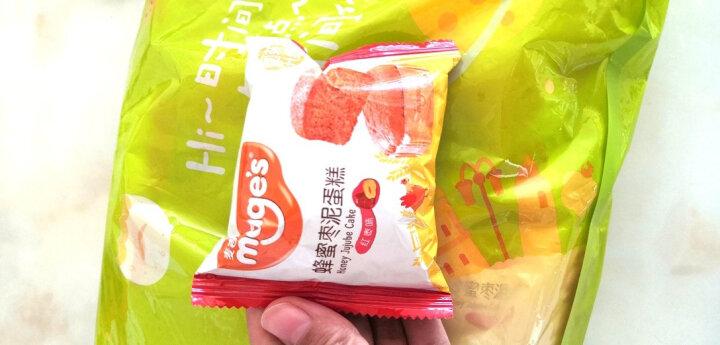 麦吉士蜂蜜枣泥蛋糕西式糕点早餐小面包 500g/袋(新老包装随机发货) 晒单图