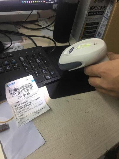 豪艺(HOOYE)HY-8510一维红光条码扫描枪支付收银码扫描器屏幕扫码枪 USB口 晒单图