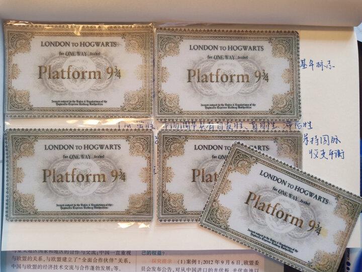哈利波特火车票四学院徽章卡贴 套六(10张) 晒单图