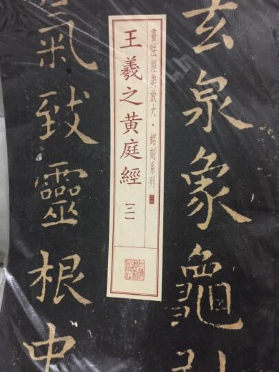 书法经典放大·铭刻系列:王羲之黄庭经(二) 晒单图