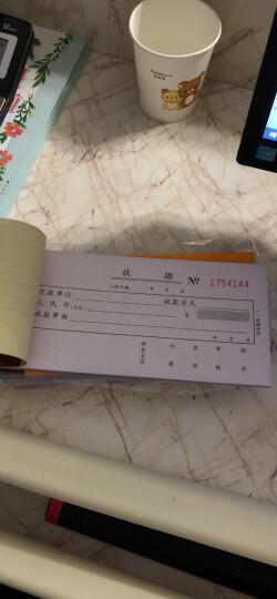得力(deli)10本无碳复写三联入库单据 财务手写无碳复写单据 办公用品 9392 晒单图