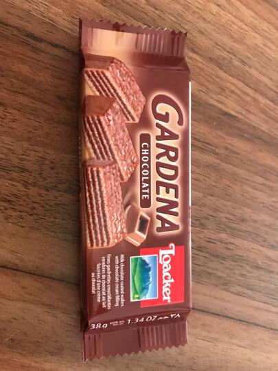 莱家(Loacker)莱家加迪纳榛子巧克力手指饼 125g 晒单图