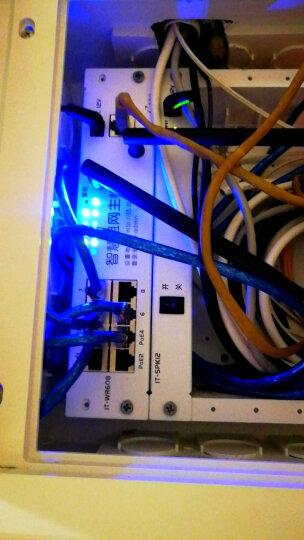 e代家园IT-WR608弱电箱家用无线路由器模块条AC控制/9口双天线300M 晒单图