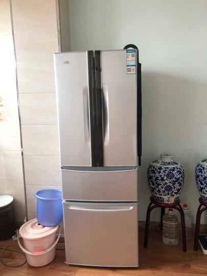 康佳(KONKA)288升 法式多门冰箱 上对开 家用电冰箱 静音保鲜 分类存储(银色)BCD-288GY4S 晒单图