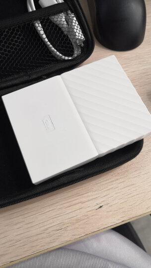 西部数据(WD)1TB USB3.0移动硬盘My Passport  2.5英寸 闪耀白(密码保护 自动备份)WDBYNN0010BWT 晒单图