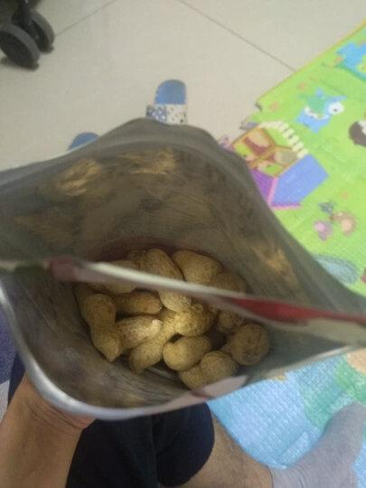 三只松鼠奶油味花生150g/袋 坚果炒货休闲零食带壳花生 晒单图