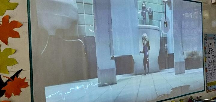 【秒杀】坚果P2/P3投影仪家用小型办公迷你投影机便携式儿童故事机手机投影电视电影机 【超长续航】 晒单图