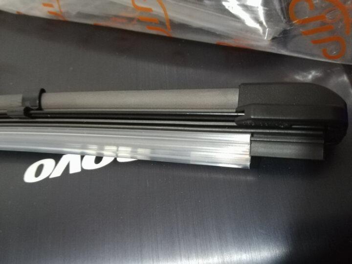 卡卡买水晶雨刮器片雨刷器无骨(买1送1,2对装)吉利远景16年款后/荣威350混合动力除外/名爵MG5A级胶条22/16 晒单图