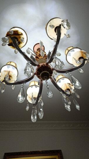 佛山照明 (FSL)led灯泡烛形尖泡水晶灯泡蜡烛泡吊灯灯泡壁灯球泡5W小螺口螺旋尖泡晶钻金色白光 晒单图