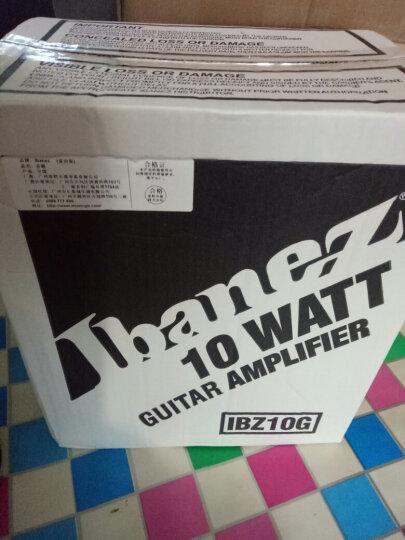 IBANEZ 依班娜GRG170DXB GRX70QA 270小双摇电吉他套装单摇电吉它 GRG170DXL BKN 左手款 晒单图