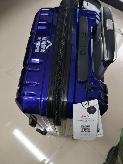 爱华仕(OIWAS)PC拉杆箱6176 万向轮行李箱 飞机轮时尚男女商务出差旅行箱 20英寸粉红色 晒单图