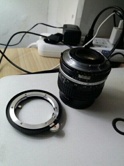 号歌 尼康AI AIS G镜头转接环 光圈调节 佳能EOS5D3 5D4 5DSR 6D 晒单图