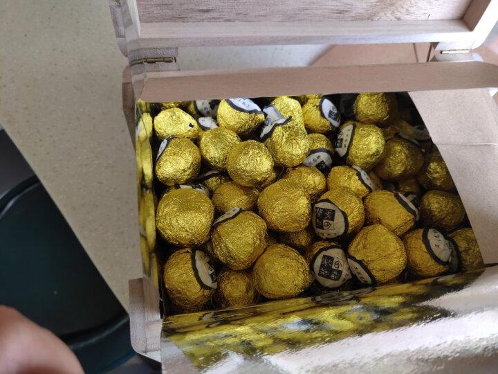 民之福明前福鼎白茶白牡丹高山太姥牡丹散装白茶圆圈球750克木盒装2012茶坨枣香味 晒单图
