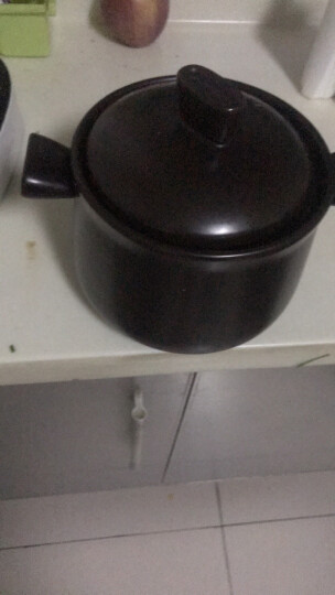 苏泊尔supor砂锅·石锅·陶瓷煲·新陶养生煲3.5L·深汤煲/TB35A1 晒单图