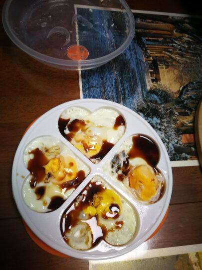 乾卫(qianwei) 微波炉蒸蛋盘 蒸蛋器爱心蛋锅 四合一蒸功夫蒸蛋磨具 晒单图