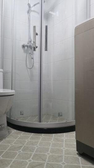 箭牌(ARROW) 淋浴房 干湿分离整体隔断弧形一字方形钻石型钢化玻璃浴房浴室屏风不锈钢铝合金定制 1100*1100mm现货 到手价2099 晒单图