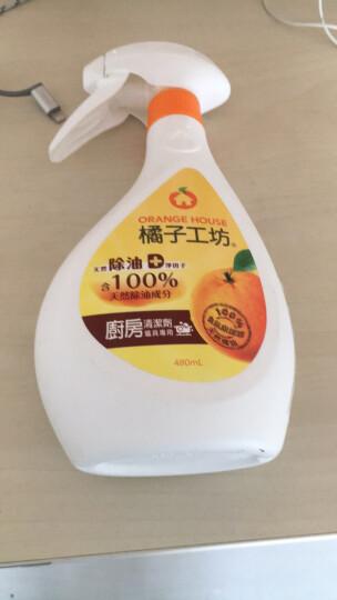 橘子工坊(Orange House)厨房清洁剂 油污净480ml炉具微波炉专用 中国台湾原装进口 晒单图