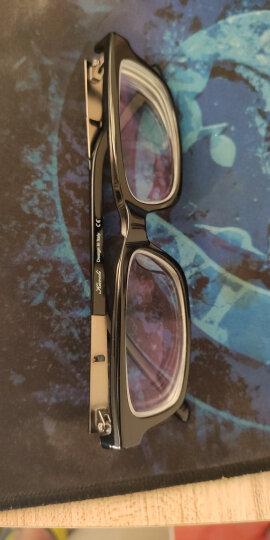 卡沃利(Kavoli)板材眼镜框男女超轻眼睛成品光学配镜全框镜架方框近视眼镜K1093 经典百搭标码黑色 不需配镜片(单买眼镜架) 晒单图