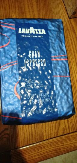 意大利原装进口LAVAZZA拉瓦萨咖啡豆 意式浓缩咖啡 纯黑咖啡 意式浓香型咖啡豆1000g 晒单图