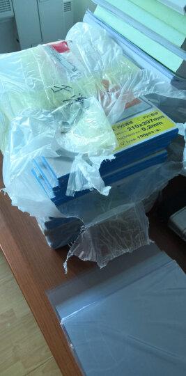 DSB 透明PVC塑料装订封面 A4 厚0.3mm 装订胶片 透明封皮封面 100张/盒 晒单图