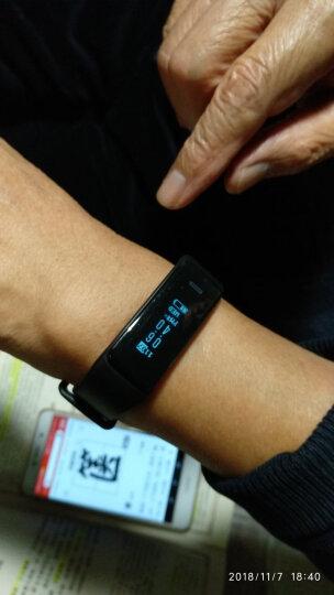 大显(DaXian) 大显DX300智能手环 测心率血压运动计步防水手表男女通用睡眠监测记步心律 黑色(普通版) 晒单图