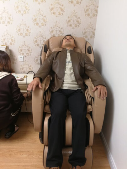 迪斯(Desleep)美国迪斯全自动全身按摩椅家用太空豪华舱老人电动多功能智能按摩椅精选推荐A19L 贵宾金 晒单图