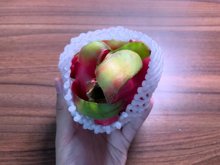 越南进口红心火龙果 4个装 单果约330-420g 新鲜水果 晒单图