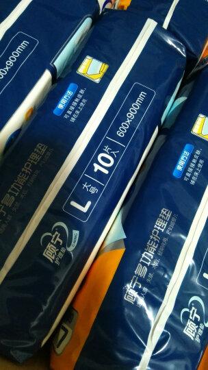 顾宁成人护理垫(60*90cm)80片整箱L号大码老人婴儿隔尿垫产妇产褥垫护理床垫 晒单图