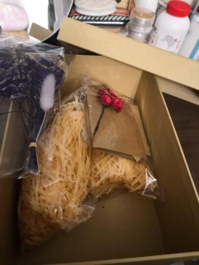 柯柯安 拉菲草 碎纸丝 礼品盒填充纸丝 喜糖盒填充物 多色 原色 晒单图