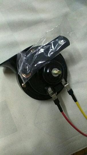 锐立普汽车喇叭摩托车喇叭12V改装高低音蜗牛喇叭电动车超响防水鸣笛喇叭 蜗牛喇叭CB-125高音(单只)12V 晒单图