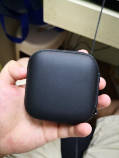 绿联 耳机收纳盒 数据线充电器U盘读卡器U盾内存卡收纳包便携式小巧旅游蓝牙耳机包防震减压数码整理包 晒单图