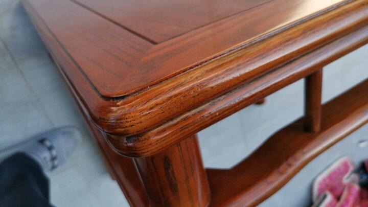 创运中式方形桌客厅实木家用矮桌子简约现代小茶几坑桌休闲小户型创意白蜡木桌角几咖啡桌学生写字边桌小方桌 这是可以配小椅子的小茶桌,不是配餐椅的餐桌。 晒单图
