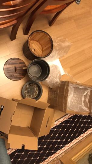 梅兰竹菊【一桶天下】茶具配件茶水桶竹制品茶桶功夫茶具废水桶排水桶茶叶茶渣桶茶道配水桶 一桶天下竹木茶水桶 晒单图
